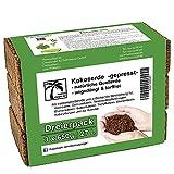 Humusziegel - Aussaaterde - 27 L - 3 x 650 g Blumenerde aus Kokosfaser - natürlich & torffrei - geeignet als Palmenerde, Erde für Zimmerpflanzen, Chili Erde, Pflanzenerde