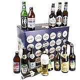 Bavariashop® Bayerischer Bier Adventskalender 2021 - Bier Kalender mit regionalen bayerischen Bieren von Traditionsbrauereien, Geschenke für Männer, Bayerischer Weihnachtskalender