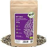 amapodo - Salbei Tee Bio 100g - Salbeitee lose - Salbeiblätter getrocknet - Kräutertee geschnitten als Gewürz - salvia officinalis - kleine Geschenke für Frauen & Männer