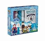 Disney Die Eiskönigin: Häkelset: Häkelbuch mit allen passenden Materialien für Elsa und Anna sowie Anleitungen für 12 Figuren