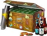 World Wide Beers   24 Flaschen internationale Biere aus aller Welt als Geschenkbox (24x0,33l)   Geschenkidee für Männer   Probierpaket   Geburtstag