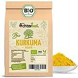 Bio Kurkuma Pulver 1Kg Kurkumawurzel gemahlen als Gewürz für Paste oder Curcuma Latte natürlich vom-Achterhof