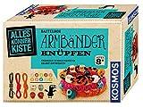 KOSMOS 604158 - AllesKönnerKiste Armbänder knüpfen. DIY-Bastelset für Mädchen und Jungen ab 8 Jahren, das ideale Geschenk-Set für den Kindergeburtstag