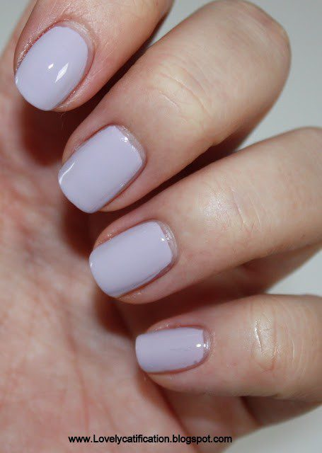 China Glaze – Light as Air + Butterfly Deco