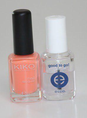 China Glaze Dupe Peachy Keen –> KIKO 359 Light Peach