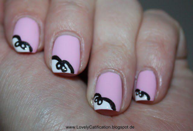 Nail Art Schleife