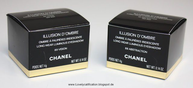 Chanel ILLUSION D'OMBRE 89 Vision – 88 Abstraction