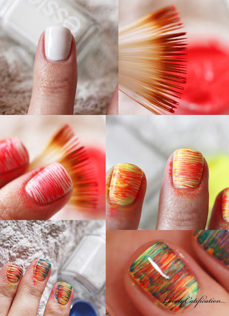 Nail Art Farnbrush Tutorial