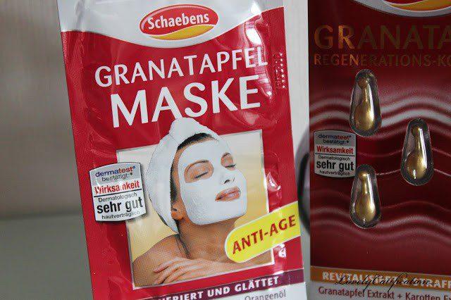 Schaebens Granatapfel Maske