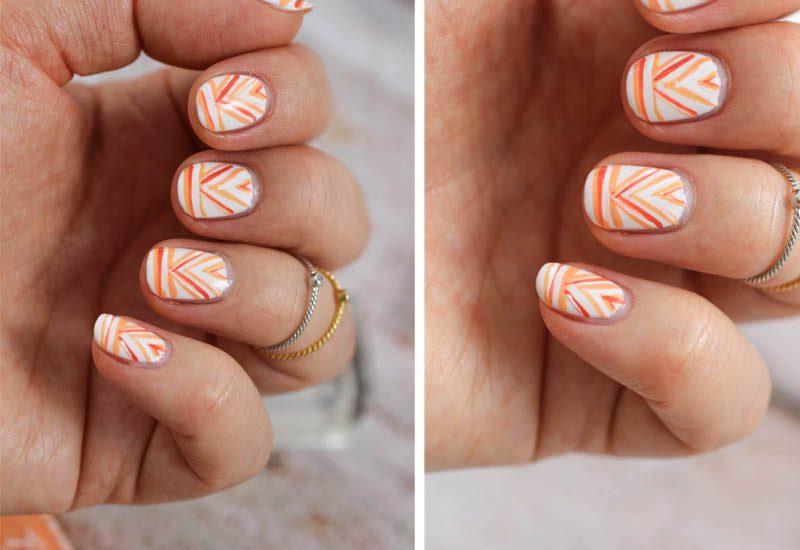 Nail Art Aztec