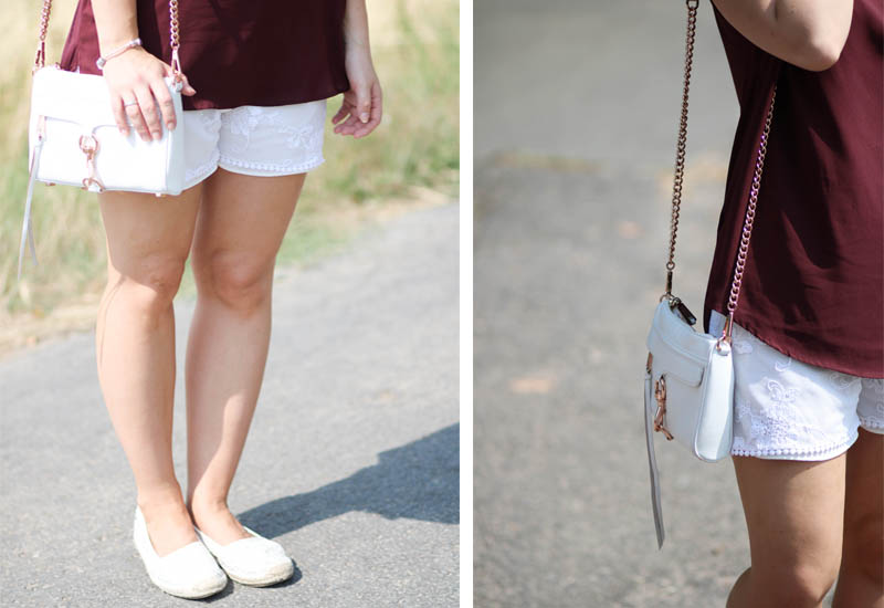 Crepe-Shorts