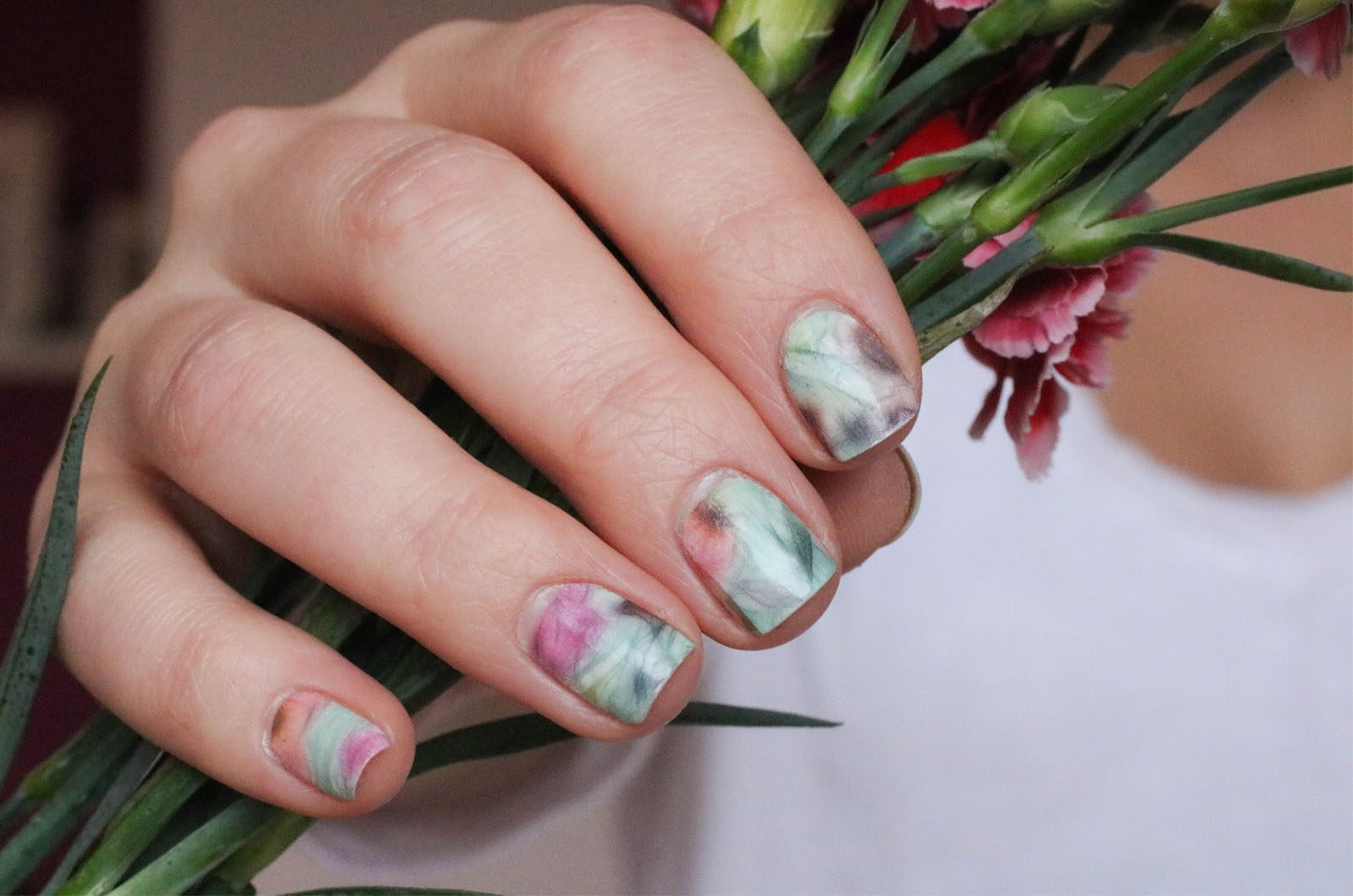 BEAUTY] Nail Art Water Decal - lovelycatification