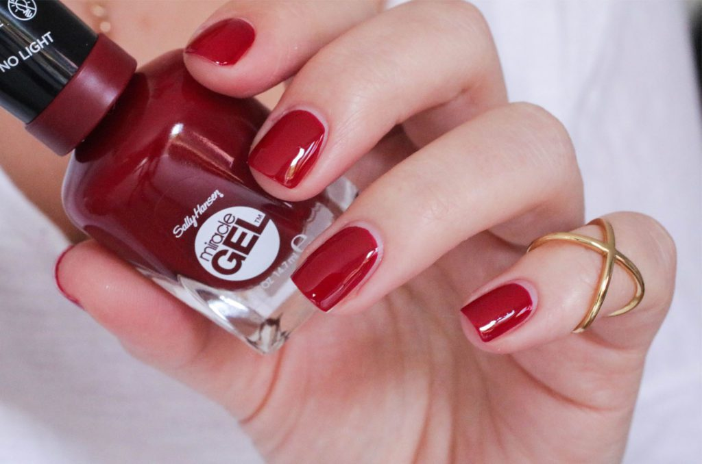Sally Hansen Royal Splenders Can't Beet Royalty1