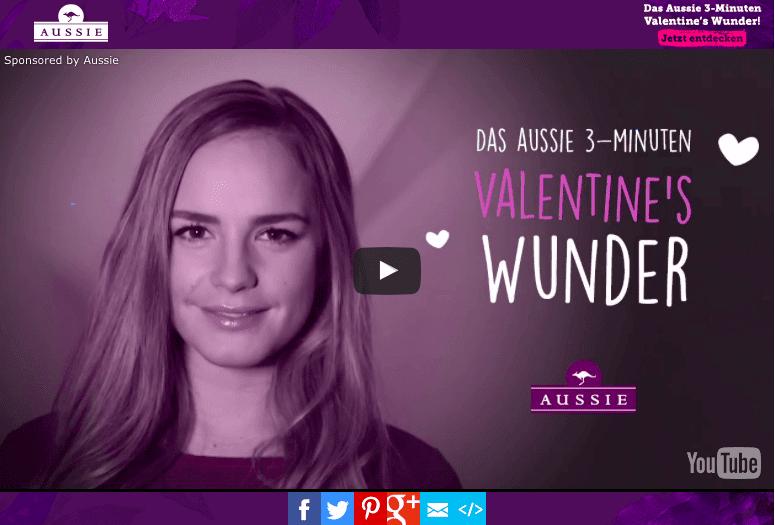 [BEAUTY] Haare zum Verlieben mit AUSSIE – Happy Valentine's Day!