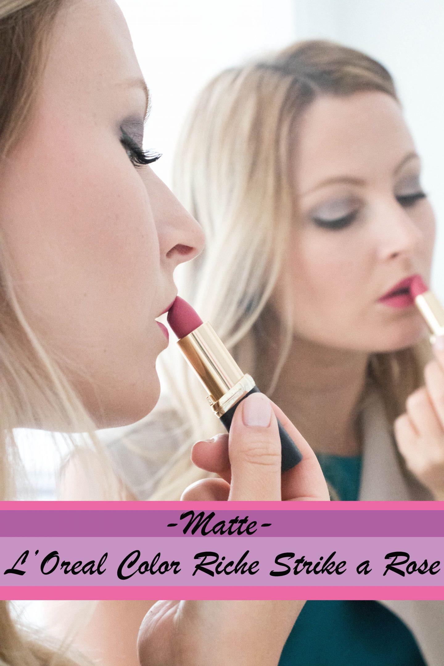 L'Oreal Color Riche Matte - Strike a Rose