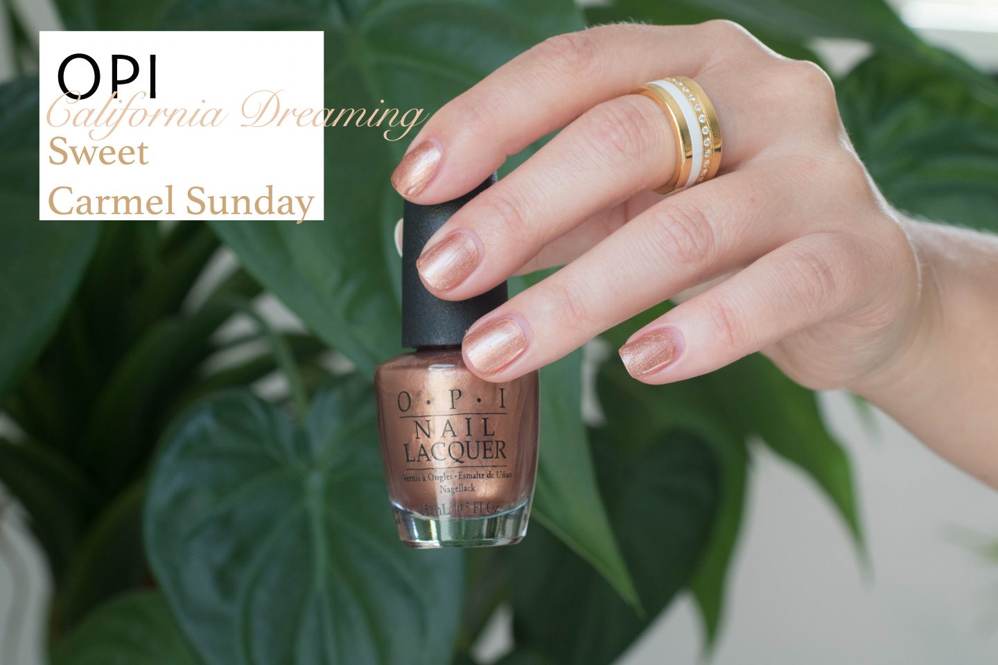 OPI California Dreaming Sweet Carmel Sunday