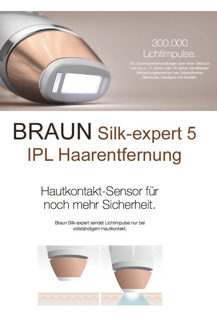 BRAUN Silk-expert 5 IPL Haarentfernung