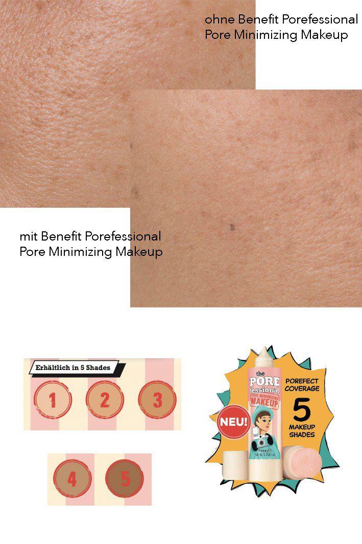 Benefit The Porefessional Pore Minimizing Makeup