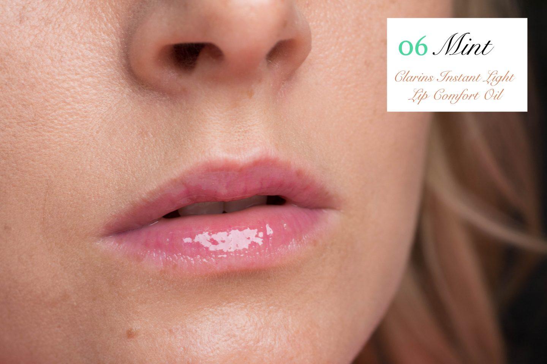 Clarins Instant Light Lip Comfort Oil 06 Mint