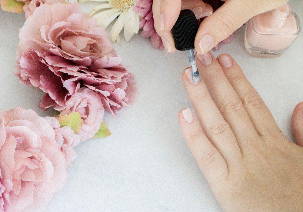 Rosenquarz Nail Art Lovelycatification.de