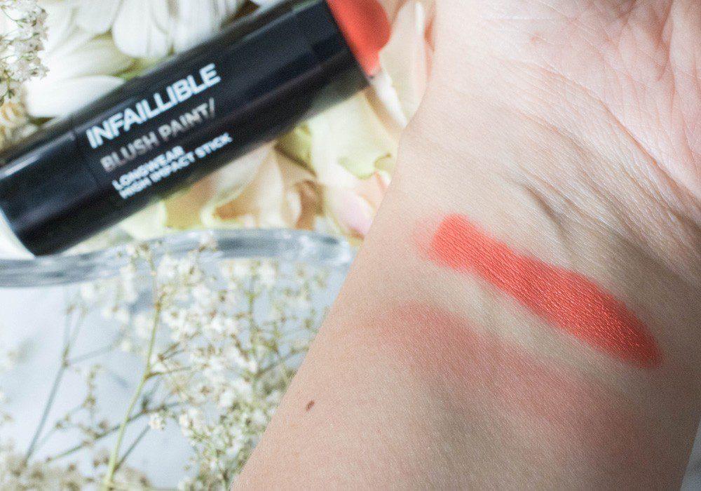 Infaillible Blush Paint Langanhaltendes Rouge