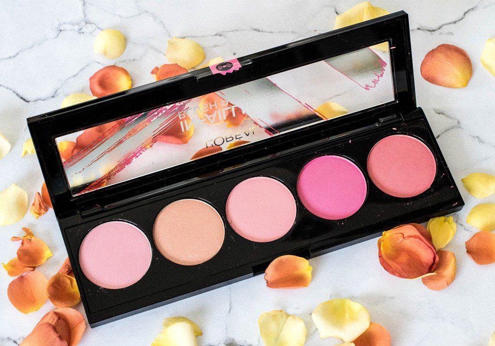L'Oreal Infaillible Blush Paint Palette-Lovelycatification