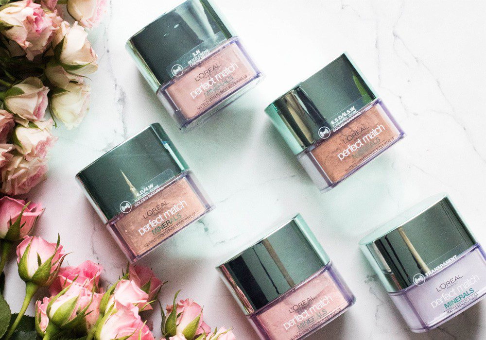 L'Oreal Perfect Match Minerals Foundation
