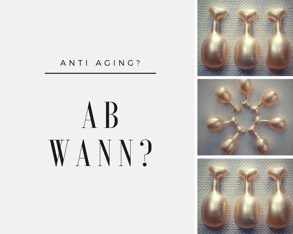 Ab wann Anti Aging Produkte verwenden?