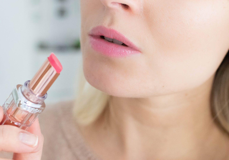 L'OREAL Color Riche Plump & Shine Lippenstift Swatches